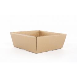Panier Conique Carton Rond Or 21 x 21 x 9 cm par 10