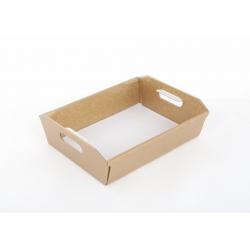 Panier Conique Anses Carton Rond Or 31 x 22 x 9 cm par 10