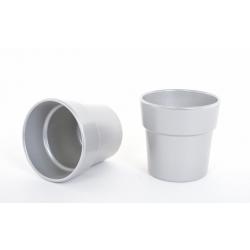 ARTIKEL - Cache-pot Argent D13.5 x H12.5 cm par 6