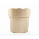 Cache-pot d13.5 h12.5 cm Or par 6