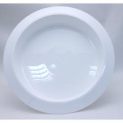 Bac Rond PVC Blanc 360x50mm...