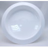 Bac Rond PVC Blanc 360x50mm par 3