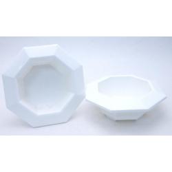 Bac Octogonale PVC Blanc...