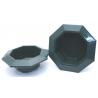 Bac Octogonale PVC Vert 260x50mm par 3