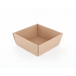 Panier Conique Carton Havane 21 x 21 x 9 cm par 10