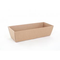 Panier Conique Carton Havane 32 x 11 x 9.5 cm par 10
