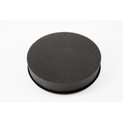 COUSSIN ROND 15CM - Coussin Eychenne Noir par 2