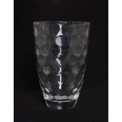 HONEYCOMB - Vase en Verre H24 x D16 cm