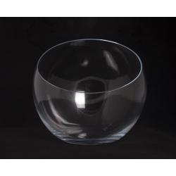 SLICY - Vase Verre Boule Biseauté D30 x H27 cm