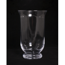 GLASS - Photophore Verre sur Pied D15 x H25 cm
