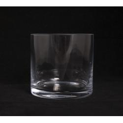 TUBE - Vase Verre Cylindre D11.5 x H11 cm