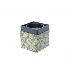 Bougie Parfumée Romarin Gingembre en Pot Verre d7 x h8.4 cm