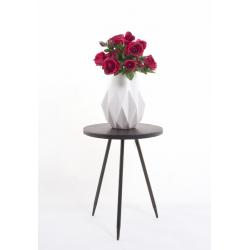 DIAMANT - Vase Blanc H29 x D24.5 cm