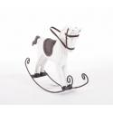 Cheval à bascule en Bois Blanc16.5 x 16.5x22.5 cm