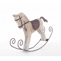 FRASER - Cheval à bascule Bois L35 x H27 cm