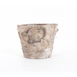 Pot en Ecorce de Bouleau d 9.5 x h 11 cm