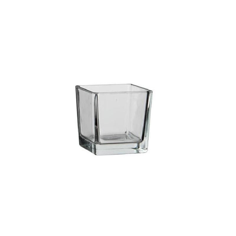 Cube en Verre 8x8x8 cm par 6