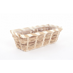 CERYNE - Vannerie Rectangle L25 x P11 x H9 cm Naturel