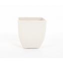 Cache-pot Bambou d8 h9 cm Blanc