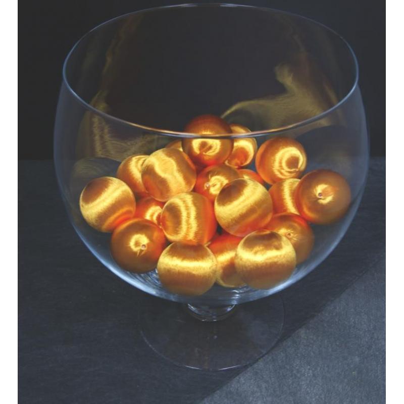 Boules soie 48mm 2.5L Orange