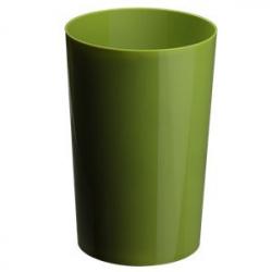 Vase Pro PVC h35xd18cm Vert