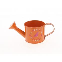 MANA - Arrosoir Zinc Orange Mamie D9 x H7,5 cm