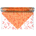 ALICE - Bulle Carré Orange 0.6x40m