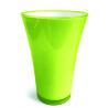 Vase PVC Fizzy H20.5 D14cm Vert