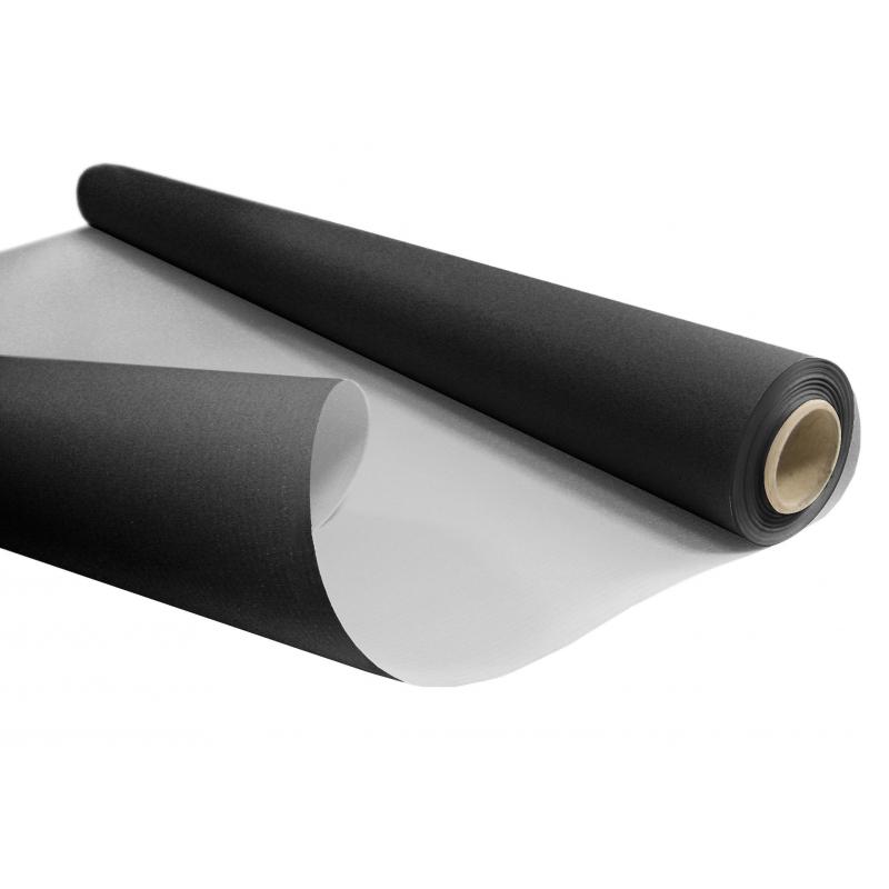 Kraft Blanc Gris/Noir 0.80x40m