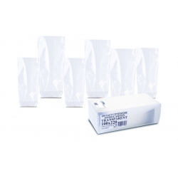 Sachets Fond Carton Transparents 100 x 220 mm par 100