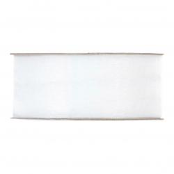 Ruban Organza 40mmx50m Blanc