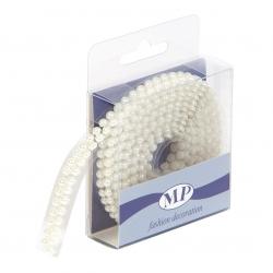 Ruban perle ivoire autocollant 8 mm x 1.50 m