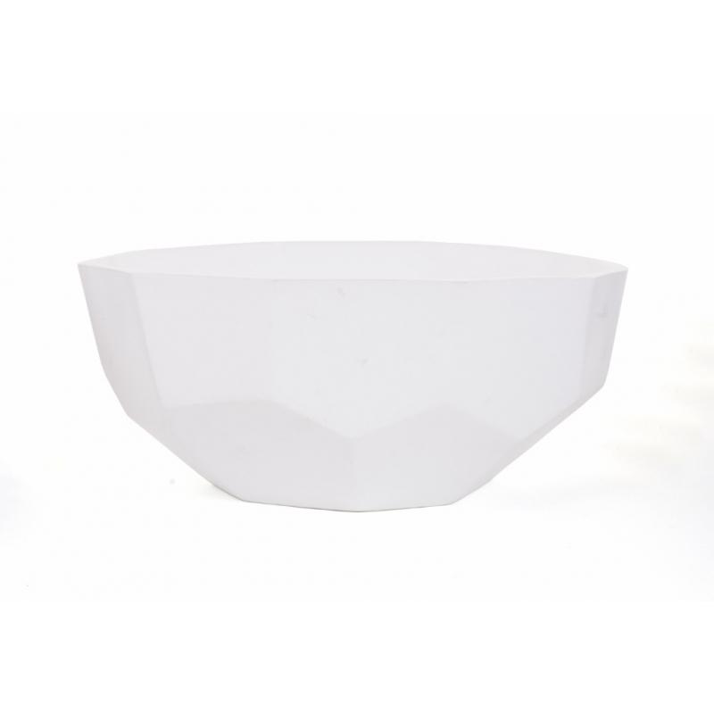 DIAMA - Coupe Céramique Blanc D29 x H12 cm