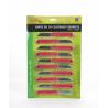 LOCAU - Couteaux de fleuriste - Plaques de 10