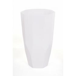 Vase Diama Blanc d 16x h 27 cm