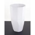 DIAMA - Vase Céramique Blanc D16 x H27 cm