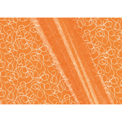 BOUCLE - Bulle 0.80x40m Boucles Orange