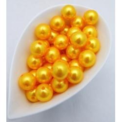 Perles 14 mm Jaune Par 72