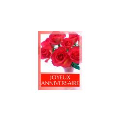 JOYEUX ANNIVERSAIRE -Etiquettes Voeux Tendresse par 500