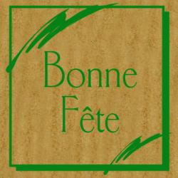 BONNE FETE - Etiquettes Tendresse Kraft par 500