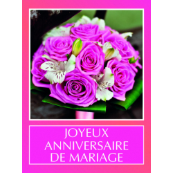 ANNIVERSAIRE MARIAGE - Etiquettes Tendresse par 500