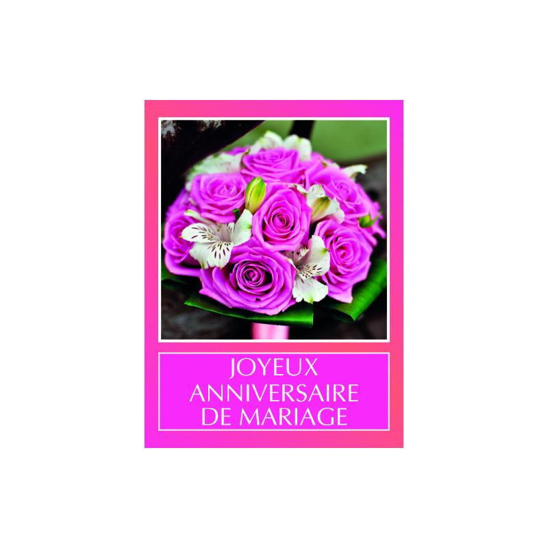 Etiquettes Joyeux Ann Mariage Par 500