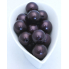Perles 20 mm Chocolat par 36
