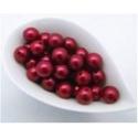 Perles 20 mm Rouge