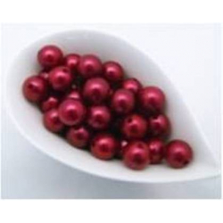 Perles 20 mm Rouge