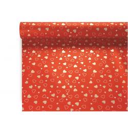 FRANCES - Opaline 0.80x40m Francesca Rouge