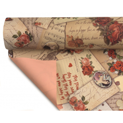 LETTERS - Opaline 0.80x40m Lettres Rose