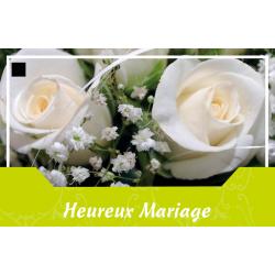 HEUREUX MARIAGE - Carte Jeso Abandoo 2 par 10
