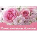 Carte Jeso Abandoo 2 par 10 Heureux Anniversaire de Mariage