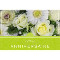 JOYEUX ANNIVERSAIRE - Carte XL Grand Format par 10